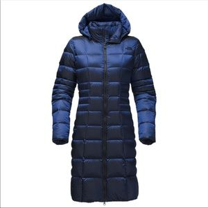The north face Metropolis II Brit blue down coat M